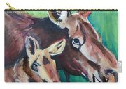 Moose In Spring Carry-all Pouch