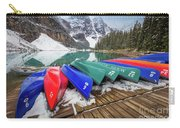 Moraine Lake Canoes Carry-all Pouch