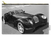 Morgan Aero 8 Black And White Carry-all Pouch