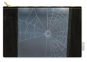 Morning Spider Web Carry-all Pouch