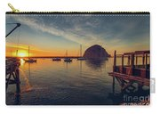 Morro Bay Harbor Sunset Carry-all Pouch