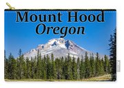 Mount Hood Oregon In Fall Carry-all Pouch