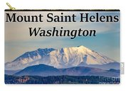 Mount Saint Helens Washington Carry-all Pouch