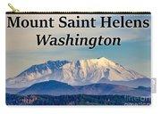 Mount Saint Helens Washington Carry-all Pouch