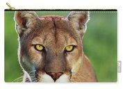 Mountain Lion Felis Concolor, Portrait Carry-all Pouch