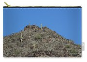 Mountain Peak In Arizona Carry-all Pouch