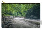 Mountain Stream In Summer #1 Carry-all Pouch by Tom Claud