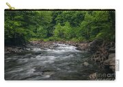 Mountain Stream In Summer #2 Carry-all Pouch by Tom Claud