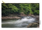 Mountain Stream In Summer #3 Carry-all Pouch by Tom Claud