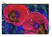 Moving Flowers Carry-all Pouch