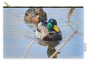 Mr And Mrs Duck Carry-all Pouch