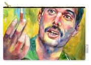 Mr Bad Guy - Freddie Mercury Portrait Carry-all Pouch