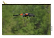 Mr. Red-winged Blackbird In-flight Carry-all Pouch