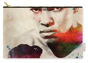 Muhammad Ali Watercolor Portrait Carry-all Pouch