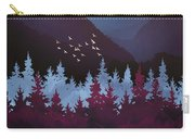 Mulberry Dusk Carry-all Pouch
