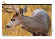 Mule Deer Buck In Rocky Mountain National Park Carry-all Pouch