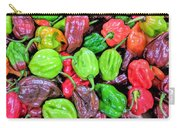 Multi Mini Hot Pepper Variety Carry-all Pouch