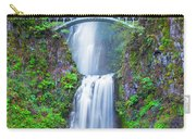 Multnomah Falls Carry-all Pouch by Dheeraj Mutha