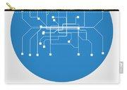 Munich Blue Subway Map Carry-all Pouch
