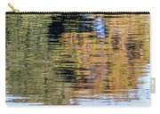 Muted Reflections Carry-all Pouch by Kate Brown