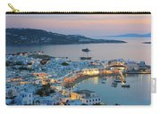 Mykonos Town At Sunset Mykonos Cyclades Greece  Carry-all Pouch