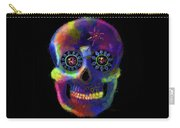 Mystico Sugarskull Of Letters Carry-all Pouch