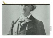 Nadar Portrait Of Charles Baudelaire Carry-all Pouch