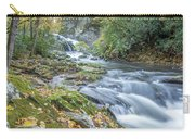 Nantahala Fall Flow Carry-all Pouch by David R Robinson