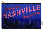 Nashville Postcard Carry-all Pouch