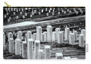 National Cemetery Carry-all Pouch by Tom Singleton