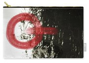 Natural Reflections With Red Shapes Carry-all Pouch