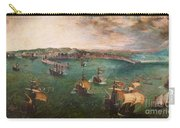 Naval Battle In The Gulf Of Naples Carry-all Pouch