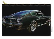 Neon Mustang Fastback 1967 Carry-all Pouch