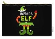 Nevada Elf Xmas Elf Santa Helper Christmas Carry-all Pouch