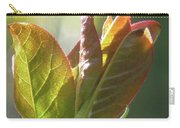 New Chokecherry Leaves Carry-all Pouch