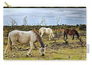 New Forest Ponies On The Heath Carry-all Pouch