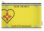 New Mexico State License Plateai Carry-all Pouch