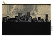 New Orleans Skyline Map Carry-all Pouch