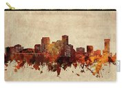 New Orleans Skyline Sepia Carry-all Pouch