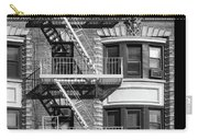 New York City Fire Escapes Carry-all Pouch