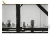 New York City From The Bridge #nyc #cityscape Carry-all Pouch
