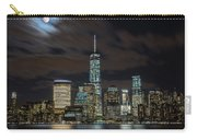 New York City Skyline At Night Carry-all Pouch