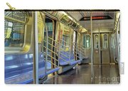 New York City Empty Subway Car Carry-all Pouch
