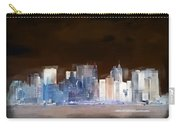 New York Skyline Illustration 1 Carry-all Pouch