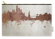 New York Rust Skyline Carry-all Pouch