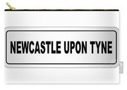 Newcastle Upon Tyne City Nameplate Carry-all Pouch