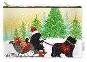 Newfoundland Dog Christmas Carry-all Pouch