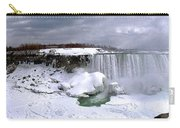 Niagara Falls Late Winter Carry-all Pouch