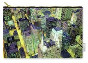 Night, Chicago, Illinois, Usa Carry-all Pouch