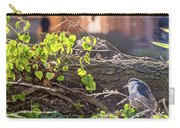 Night Heron At The Palace Carry-all Pouch by Kate Brown